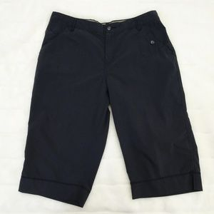 Woman's Columbia XCO Long Shorts Size 14 Gray